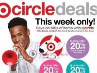 Target (Circle Deals) Flyer