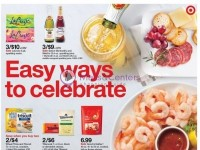 Target (Easy Ways To Celebrate) Flyer