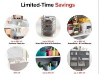 The Container Store (Hot Offer) Flyer