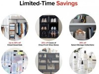 The Container Store (Limited Time Savings) Flyer