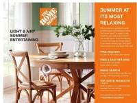 The Home Depot (Late summer decor catalog) Flyer