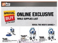 The Home Depot (Shop Pro Ad) Flyer