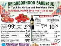 The Market (Special Offer) Flyer