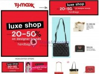 T.J.Maxx (Saving You Love) Flyer