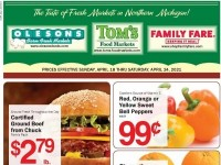Tom's Food Markets (Hot Deals) Flyer