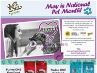 VG's Grocery (May Is National Pet Month) Flyer