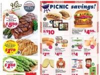 VG's Grocery (Picnic Savings) Flyer