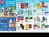 Walgreens (Fresh Start For School) Flyer
