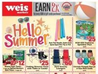 Weis Markets (hello Summer) Flyer