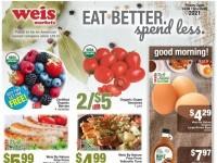 Weis Markets (Natural & Organic) Flyer