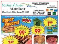 White Haven Market (Super Savers) Flyer