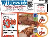 Wingert's Food Center (Special Offer) Flyer