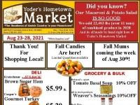 Yoder's Hometown Market (Hot Deals) Flyer