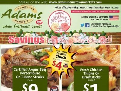 Adams hometown market (Savings by the Truckload) Flyer