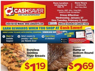 CashSaver (Special Offer - RALLS) Flyer