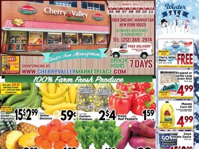 Cherry Valley Marketplace (Special Offer) Flyer
