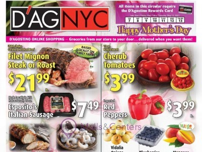 D'Agostino (Happy Mother's Day) Flyer