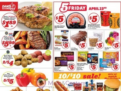 Dan's fresh supermarket (Special Offer) Flyer