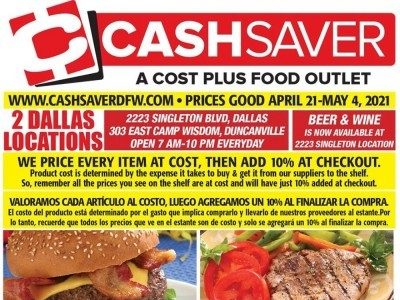 DFW Cash Saver (Weekly Specials) Flyer