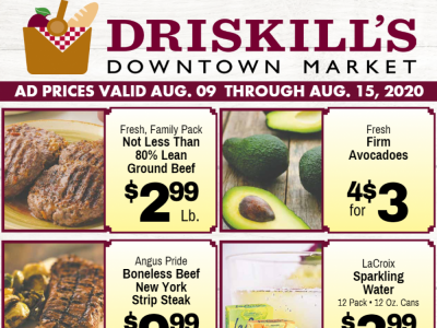 Driskill's Downtown Market (7 Days Of Savings) Flyer