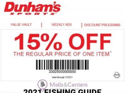 Dunham's Sports (Fishing Guide) Flyer