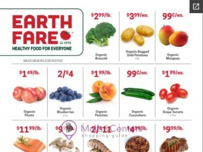 Earth Fare (Hot Offer) Flyer