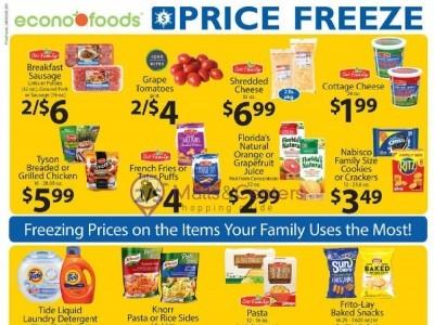 EconoFoods (Price Freeze) Flyer