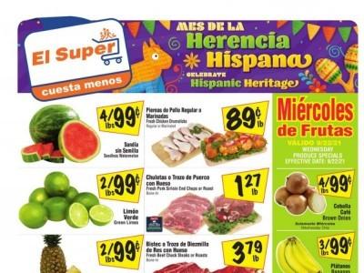 El Super (Special Offer - CA) Flyer