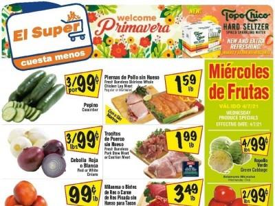 El Super (Special Offer - TX) Flyer