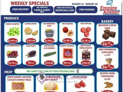 Empire Kosher Supermarket (Weekly Specials) Flyer