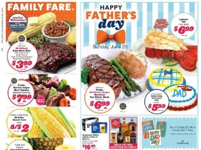 Family Fare (Happy Father's Day) Flyer