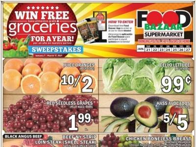 Food Bazaar (Special Offer) Flyer
