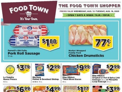 Food Town (Special Offer) Flyer