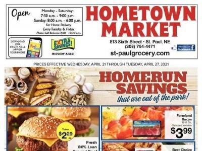 Hometown Market (Special Offer - NE) Flyer