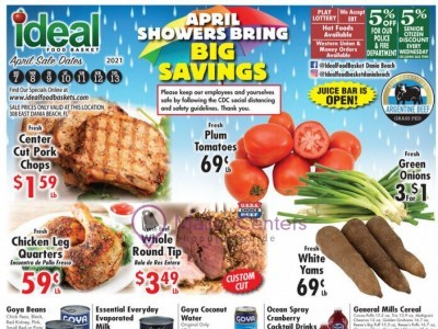Ideal Food Basket (BIG Savings) Flyer