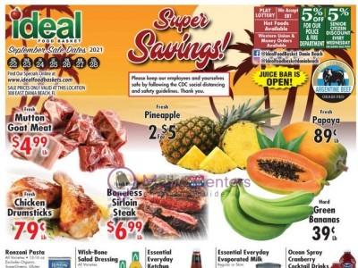 Ideal Food Basket (super savings) Flyer
