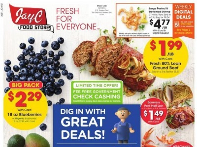 Jay C Foods (Fresh for Everyone) Flyer