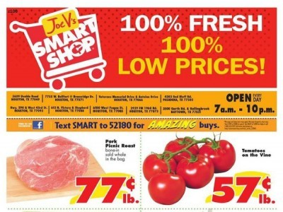 Joe V's Smart Shop (Low Prices) Flyer
