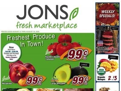 Jons Fresh Marketplace (Special Offer) Flyer