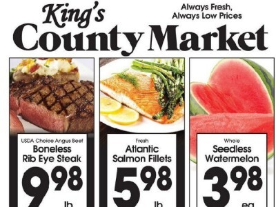 King's County Market (Always Fresh Always Low Prices) Flyer