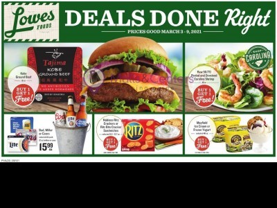 Lowes Foods (Weekly Specials) Flyer