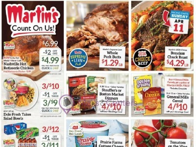 Martin's Supermarket (Special Deals) Flyer