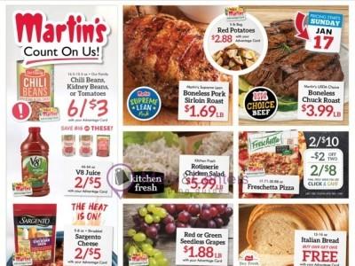 Martin's Supermarket (Weekly Specials) Flyer