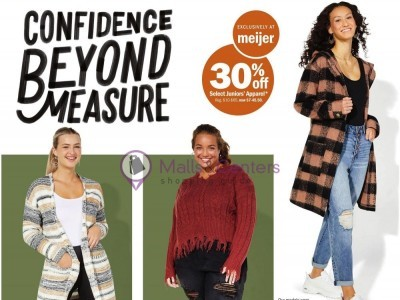 Meijer (Confidence Beyond Measure) Flyer