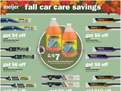 Meijer (Fall Car Care Savings) Flyer