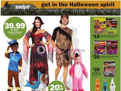 Meijer (Get In The Halloween Spirit) Flyer