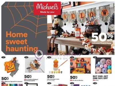 Michaels (Home Sweet Haunting) Flyer
