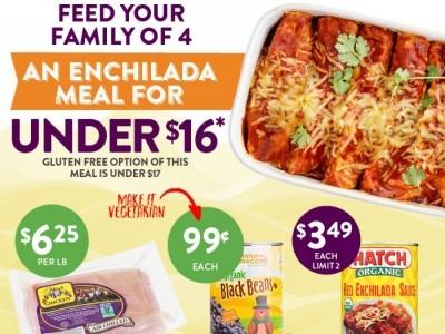 Natural Grocers (Enchilada Meal) Flyer