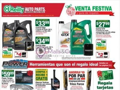O'Reilly Auto Parts (sigue adelante con oreilly - CA) Flyer