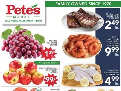 Pete's Fresh Market (Special Offer - Calumet City Evergreen Park Madison & Western) Flyer